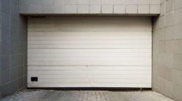 10341701 - close white garage door
