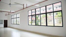 17828521 - large window empty interior view